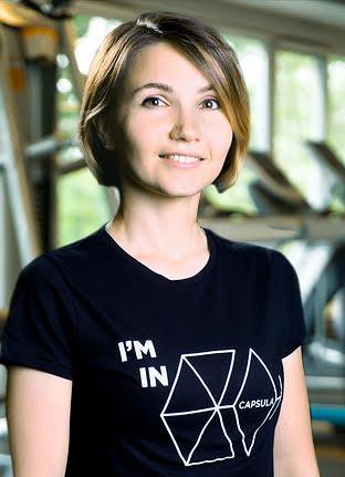 Мария Овсянникова - Capsula fitness Москва