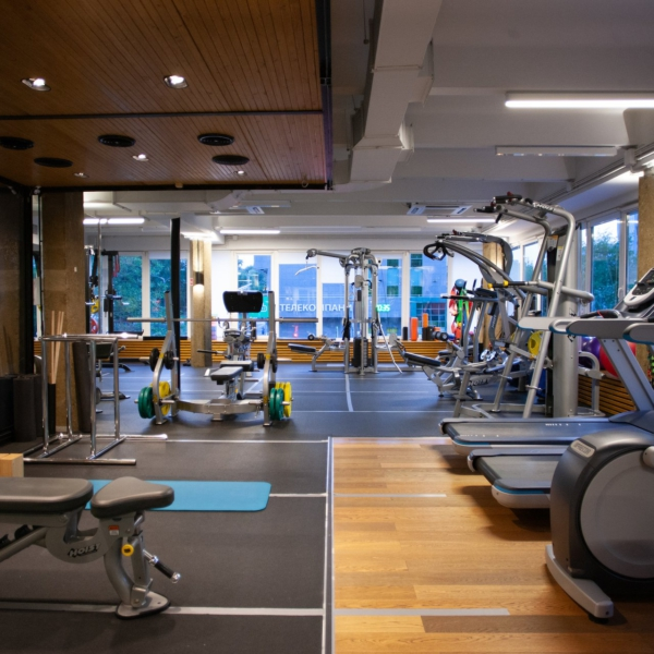 Capsula fitness интерьер